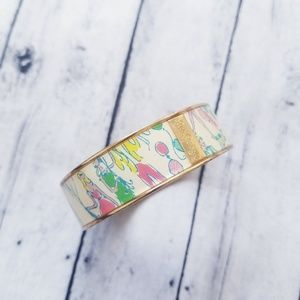 Lilly Pulitzer Pop Party Balloon cuff bracelet